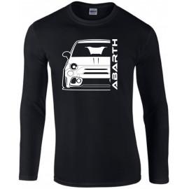 Fiat Abarth 595 2019 Outline Modern Longsleeve