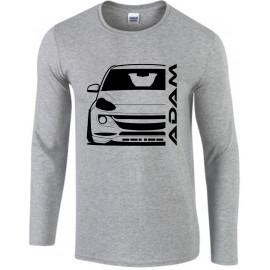 Opel Adam Outline Modern Longsleeve Shirt