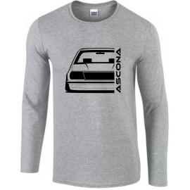 Opel Ascona B Outline Modern Longsleeve Shirt