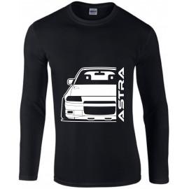 Opel Astra F GSI Outline Modern Longsleeve Shirt