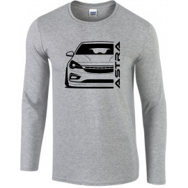Opel Astra K Modern Outline Longsleeve Shirt