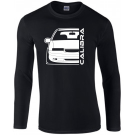 Opel Calibra Cliff Edition Outline Modern Shirt Longsleeve Shirt