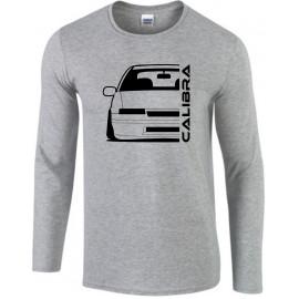 Opel Calibra Outline Modern Longsleeve Shirt