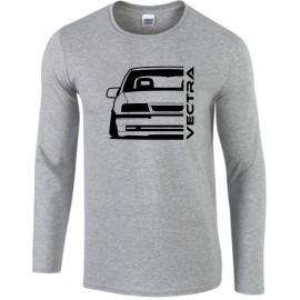 Opel Vectra A Modern Outline Longsleeve Shirt