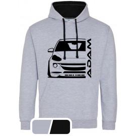 Opel Adam Outline Modern Hoodie Varsity