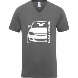 Opel Corsa D Diesel Outline Modern V-Neck