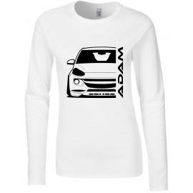 Opel Adam Outline Modern Longsleeve Lady
