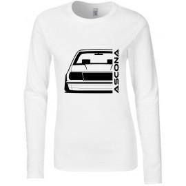 Opel Ascona B Outline Modern Longsleeve Lady