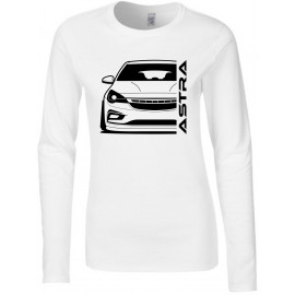 Opel Astra K Modern Outline Longsleeve Lady