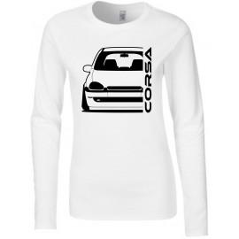 Opel Corsa B Outline Modern Longsleeve Lady