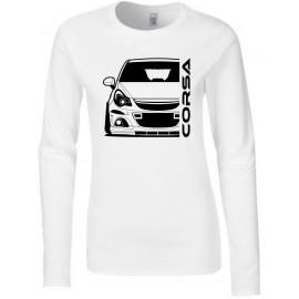 Opel Corsa D OPC Outline Modern Longsleeve Lady