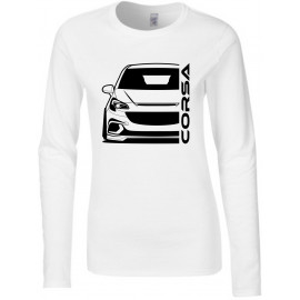 Opel Corsa E OPC Outline Modern Longsleeve Lady
