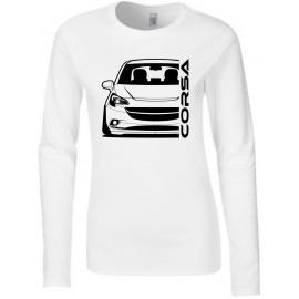 Opel Corsa E Outline Modern Longsleeve Lady