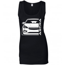 Opel Astra K Modern Outline Tank Top Lady