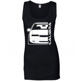 Opel Calibra Cliff Edition Outline Modern Tank Top Lady