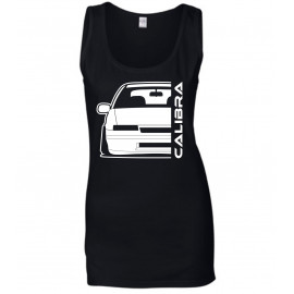 Opel Calibra Outline Modern Tank Top Lady