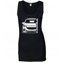 Opel Corsa E OPC Outline Modern Tank Top Lady