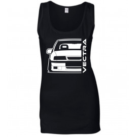 Opel Vectra A 2000 Outline Modern Tank Top Lady