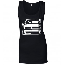 Opel Vectra A Modern Outline Tank Top Lady