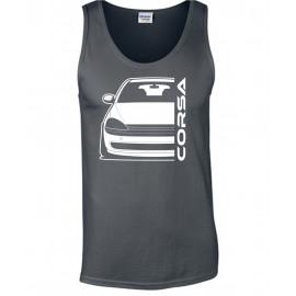 Opel Corsa C Outline Modern Outline Tank Top