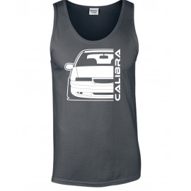 Opel Calibra Cliff Edition Outline Modern Outline Tank Top