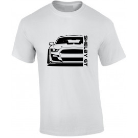Ford Mustang Shelby GT500 2020 Outline Modern T-Shirt
