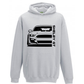 Ford Mustang Shelby GT500 2020 Outline Modern Hoodie