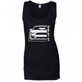 Ford Mustang Shelby GT500 2020 Outline Modern Tank Top Lady