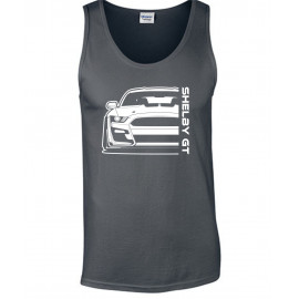 Ford Mustang Shelby GT500 2020 Outline Modern Tank Top