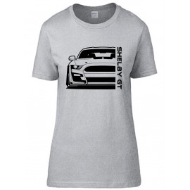 Ford Mustang Shelby GT500 2020 Outline Modern T-Shirt Lady
