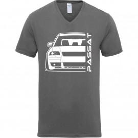 VW Passat 3BS W8 Outline Modern V-Neck