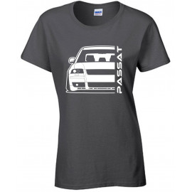 VW Passat 3BS W8 Outline Modern T-Shirt Lady