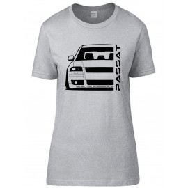 VW Passat 3BS W8 Outline Modern T-Shirt Lady