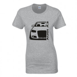 Audi A3 8P Outline Modern T-Shirt Lady