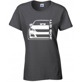 Peugeot 308 GTi 2019 Outline Modern T-Shirt Lady
