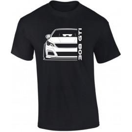 Peugeot 308 GTi 2019 Outline Modern T-Shirt