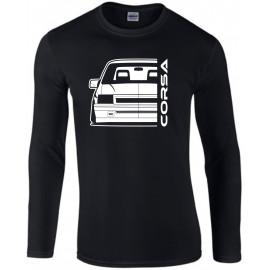 Opel Corsa A GSI Outline Modern Longsleeve Shirt