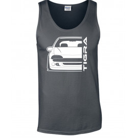Opel Tigra A Outline Modern Tank Top Lady