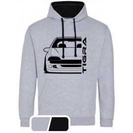 Opel Tigra A Outline Modern Hoodie Varsity