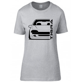 Opel Tigra A  Outline Modern T-Shirt Lady
