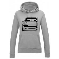 Opel Tigra A Outline Modern Hoodie Lady