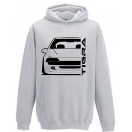 Opel Tigra A Outline Modern Hoodie