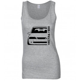 Opel Vectra B i500 Outline Modern Tank Top Lady