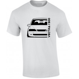 Opel Vectra B i500 Outline Modern T-Shirt