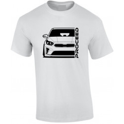 Kia Proceed 2019 Outline Modern T-Shirt