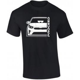 Kia Proceed 2019 Outline Modern T-Shirt