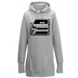 Kia Proceed 2019 Outline Modern Hoodie Lady Longline