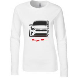 Kia Proceed GT 2019 Modern Outline Longsleeve Lady