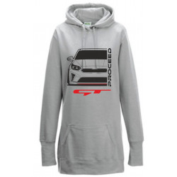 Kia Proceed GT 2019 Hoodie Lady Longline Special Edition