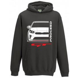 Kia Proceed GT 2019 Outline Modern Hoodie